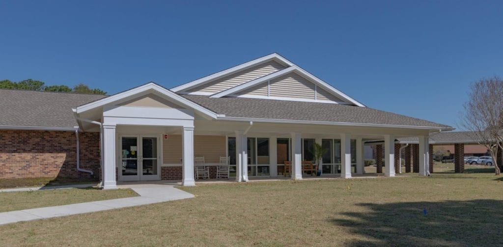 Photo of Air Force Enlisted Village, a commercial construction project of Bear General Contractors