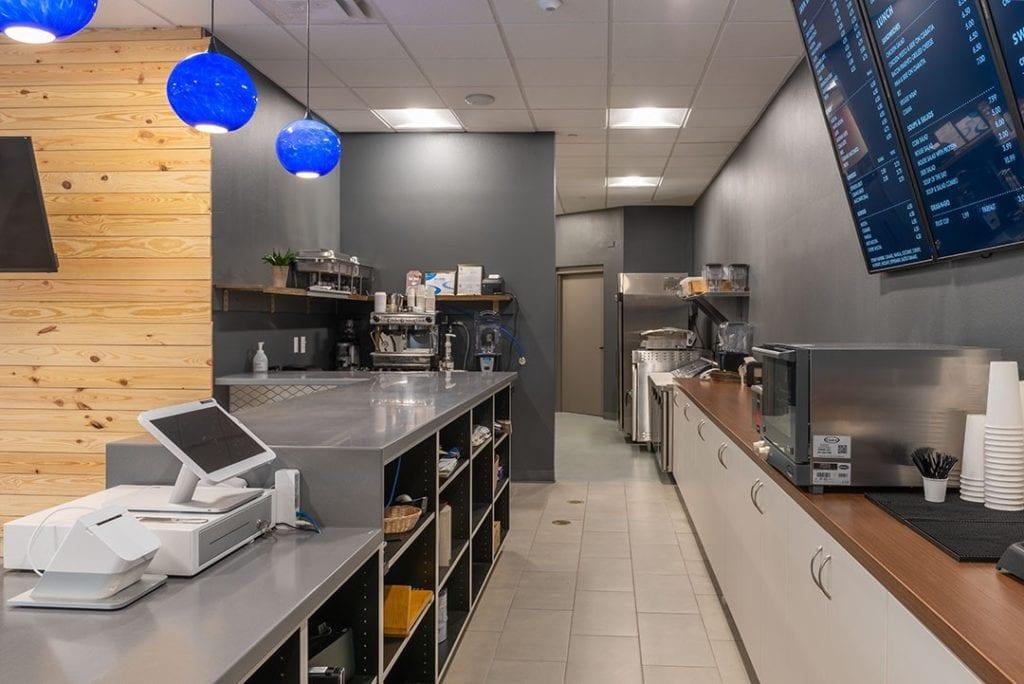 Photo of Gateway Café, a commercial construction project of Bear General Contractors