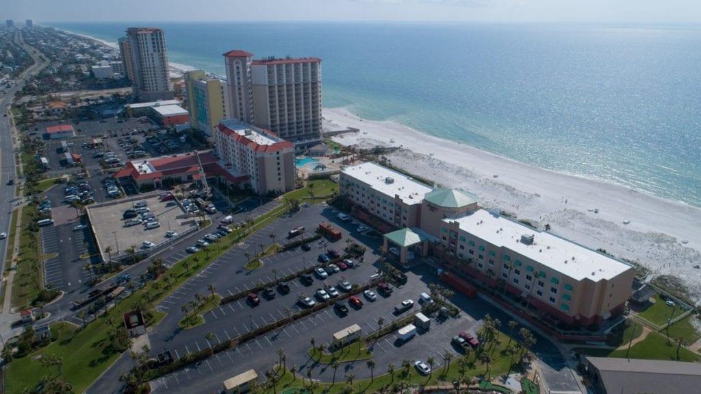 Photo of Hampton Inn Pensacola Beach, a commercial construction project of Bear General Contractors