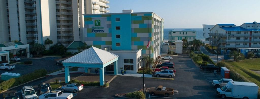 Photo of Holiday Inn Express Orange Beach, a commercial construction project of Bear General Contractors