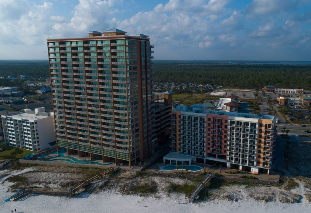 Photo of Hampton Inn Orange Beach, a commercial construction project of Bear General Contractors