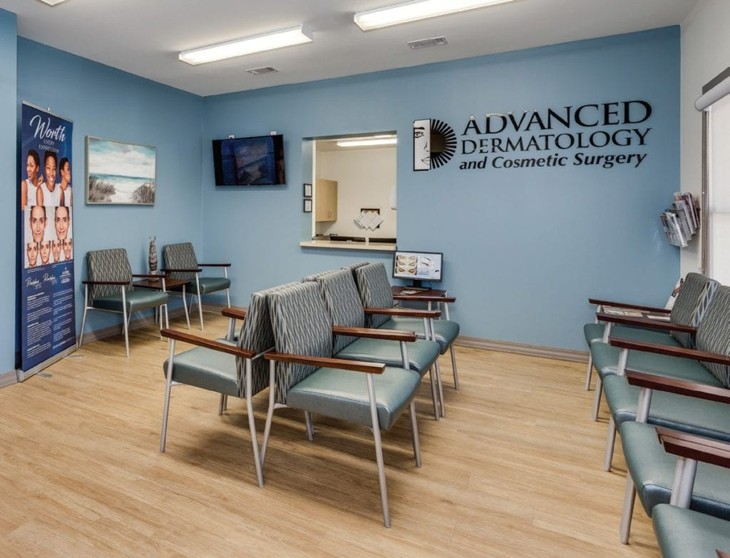 Photo of Advanced Dermatology & Cosmetic Surgery, a commercial construction project of Bear General Contractors