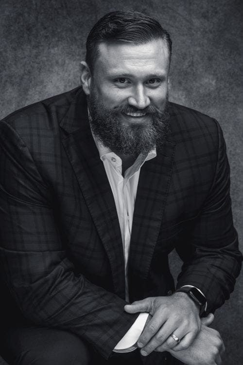 Headshot of co-founder of Bear General Contractors Josh Sitton