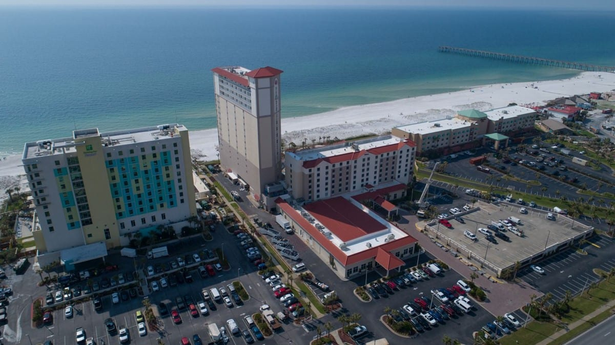 Photo of Hilton Pensacola Beach, a commercial construction project of Bear General Contractors