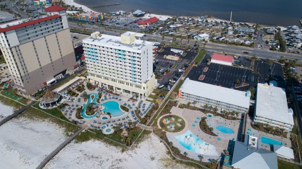 Photo of Holiday Inn Resort Pensacola Beach, a commercial construction project of Bear General Contractors