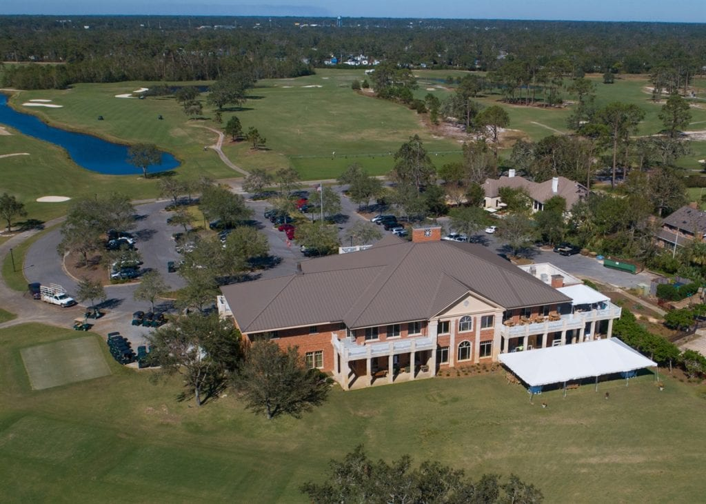 Photo of Pensacola Country Club, a commercial construction project of Bear General Contractors