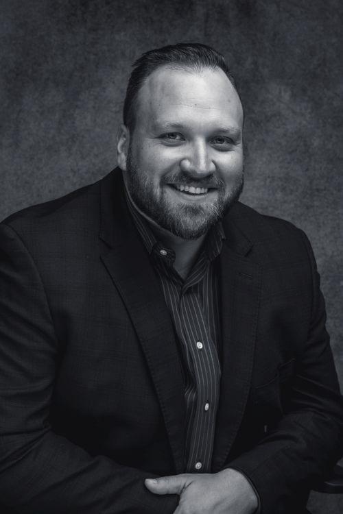 Headshot of co-founder of Bear General Contractors Chris Jaubert