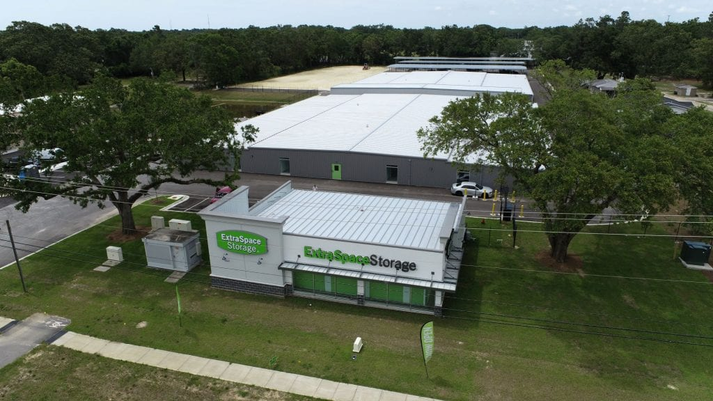 Completed photo of ExtraSpace Storage on Nine Mile Rd, a commercial construction project of Bear General Contractors