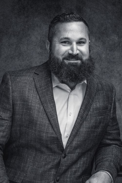 Headshot of Chief Operating Officer of Bear General Contractors Luke Pittman