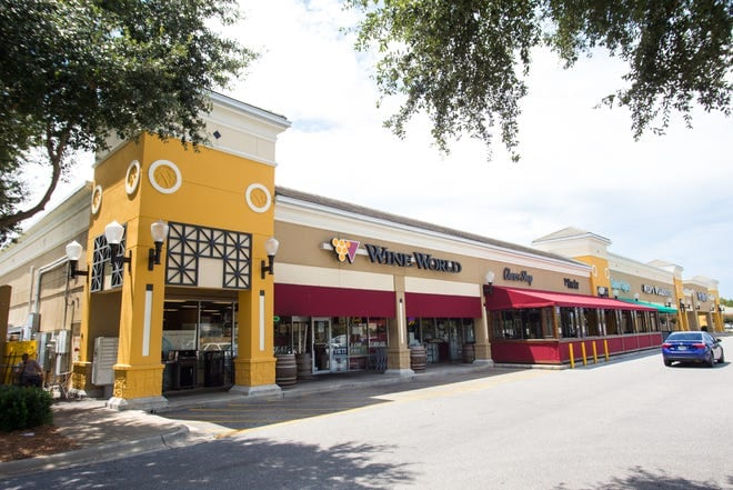 Photo of the exterior of Wine World, a commercial construction project of Bear General Contractors