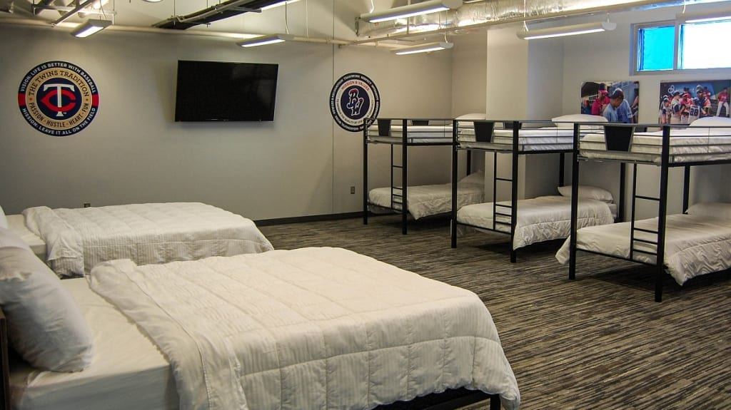 Photo of Blue Wahoos dorm, a commercial construction project of Bear General Contractors